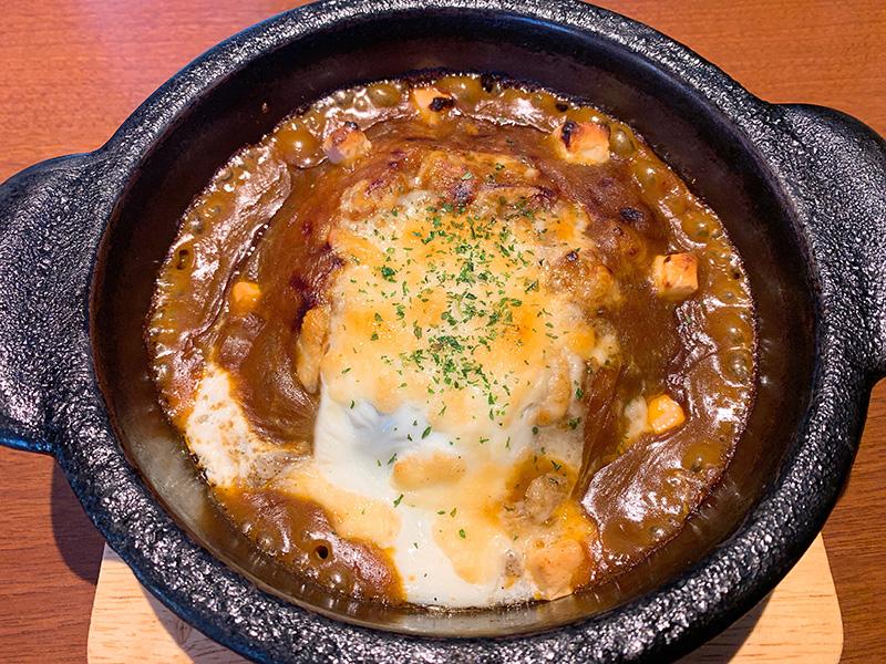 門司港・M's cafe TokiDoki 咖喱本舗(エムズカフェ トキドキ カリイ本舗)の焼きカレー