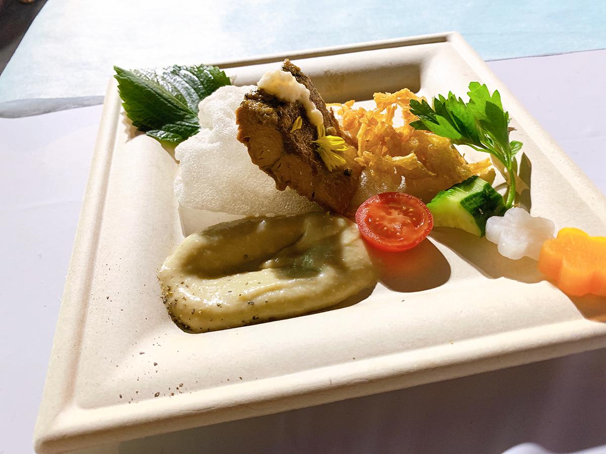 タグボートFC/小倉名物の再構築 白いぬかだきと旬野菜のぬかバーニャカウダ