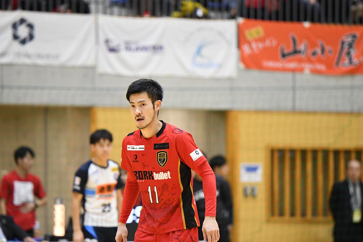今季14得点の小林謙太選手