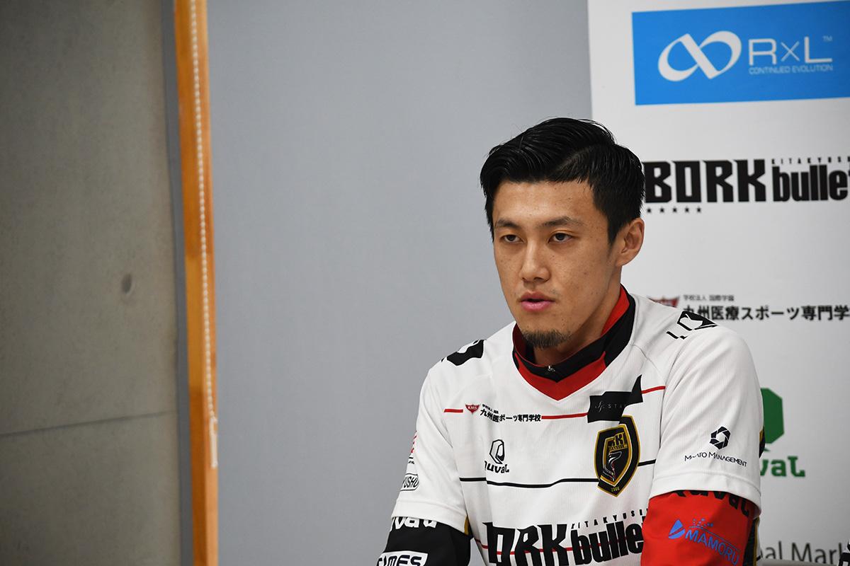 今季17得点をあげ、得点ランキング1位となった清水誠也選手