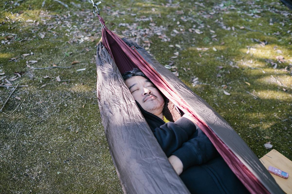 ハンモックでの昼寝は最高でした