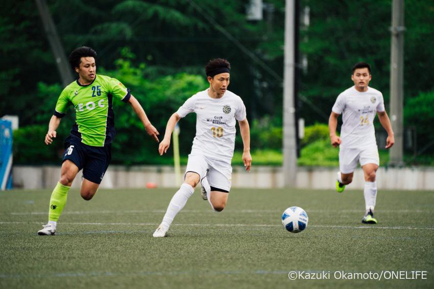 2021シーズンから鎌倉インターナショナルFCでプレーする内藤選手